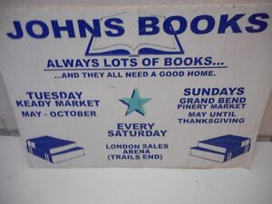 JOHN'S BOOKS...HUGE SELECTION, GREAT PRICES, COME ON IN ...