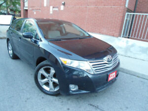2009 TOYOTA VENZA V6 AWD , ONLY 122 KM , (4) LIKE NEW TIRES !!!
