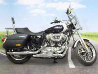 Harley Davidson XL 1200 T Superlow Sports 2014