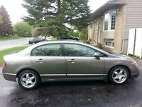 2006 Honda Civic Automatique 162000Km 5500$ Negociable