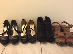 Heels for sale all 7.5