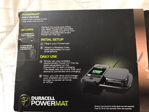 DURACELL POWERMAT WIRELESS CHARGER For Cell phones Cambridge Kitchener Area image 2