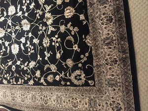 Korhani Area Rug - 9 x 10 - Black - $125