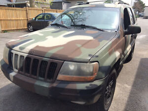 1999 Jeep Grand Cherokee 4x4! Perfect for off roading!