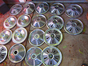 Ford Hubcaps = Ford Fairlane Mustang. $10. Each