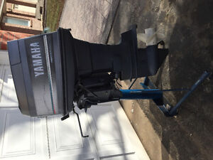 Outboard motor Yamaha 90hp oil injection