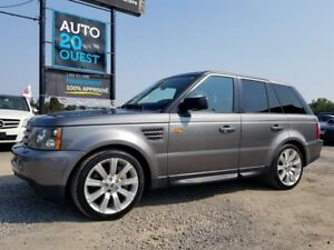 Land Rover Range Rover Sport 4WD 4dr SUPERCHARGED 2008