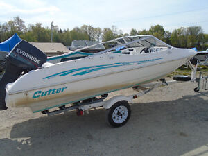 1996 CUTTER XL167 BOWRIDER FOR SALE