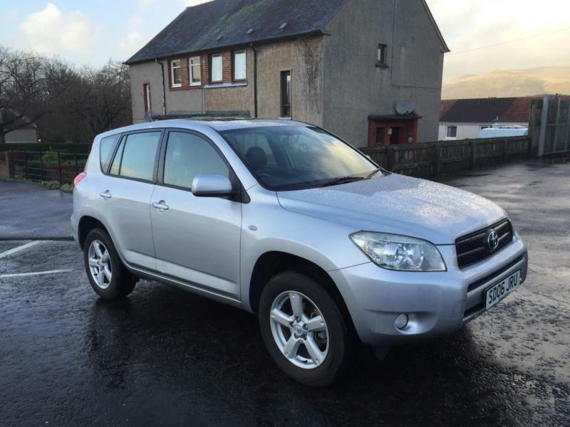 2006 toyota rav4 2 0 xt4 only 60000 miles in clackmannan clackmannanshire gumtree. Black Bedroom Furniture Sets. Home Design Ideas