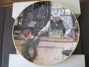 Norman Rockwell Collector Plates London Ontario image 1