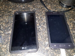 Lg x power and Samsung grand prime