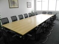 Office Meeting Table Boardroom Table | Conference Meeting Table 2.4m
