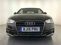 2015 AUDI A3 SPORT TDI DIESEL CONVERTIBLE 1 OWNER AUDI SERVICE HISTORY
