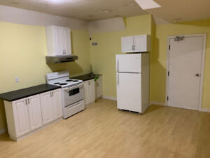 BRAND NEW  Basement Apartment on South End