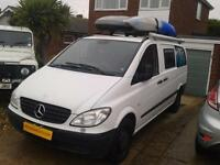 Mercedes-Benz Vito 109 CDI, Camper Van, Conversion, Sleeps 3, Cruise Control,