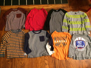 Boys 3T long sleeve shirts Gap, Carters, Osh Kosh