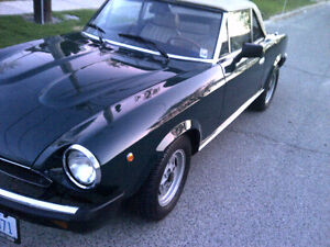 Amazing Fiat Spider 1979 completely restored