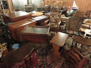 ANTIQUE FURNITURE FOR SALE, DINNING TABLES, COFFEE TABLES, COLLE