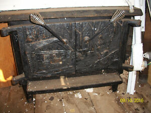 Wood stove,  Poèle a bois