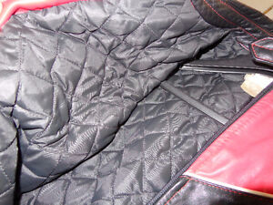 Leather jacket in med.   recycledgear.ca Kawartha Lakes Peterborough Area image 9