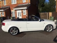 2008 58 Diesel Audi A4 sport sports/convertible