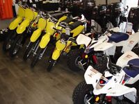2016 Suzuki Motorcross & ATV's Just Arrived!