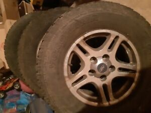 97-03 ford f150 oem wheels and tires