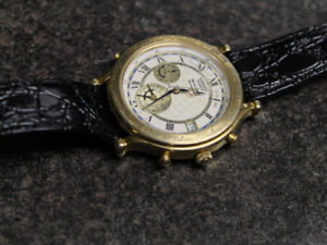 1993 Seiko Age of Discovery World Timer chronograph watch