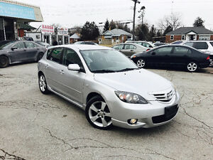 2004 Mazda3 Hatchback GT | Safety&Etested | 1YearWarranty•LOWKMS