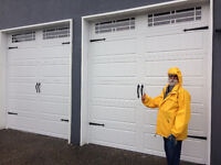 Garage door and motor install / repair