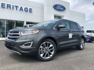 2018 Ford Edge TitaniumHEATED STEERING WHEEL ! NAVIGATION ! ADAP