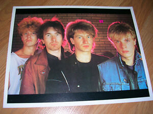 "1980's 8x10 picture of ""U2"" sold in record stores in mid 80's."