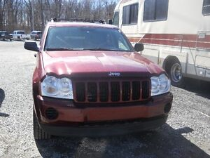 2007 Jeep Grand Cherokee with remote starter West Island Greater Montréal image 2