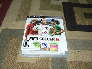 Fifa soccer 2012 Sony Playstation 3 game