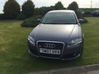 2007 07 Audi A4 2.0TDI 140 S Line Diesel Grey 5 Door NEW MOT WITH CAR.