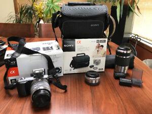 Sony Nex-3 and lenses