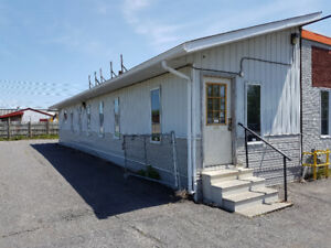 Office Space/ Heated Storage for Lease. 720 sqft.