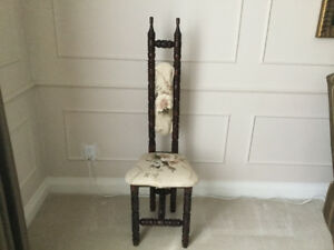 Antique smokers chair for sale
