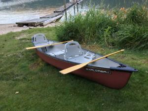 14.5 Pelican Explorer DLX canoe