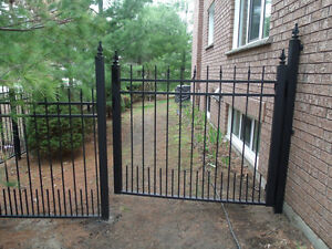 Wrought Iron Metal Solid Fence Panels, Railings, Gates London Ontario image 4