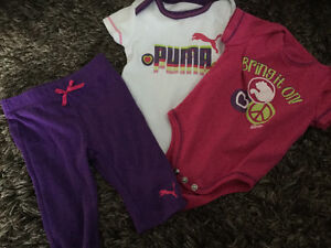 0-3 month puma set Kitchener / Waterloo Kitchener Area image 1