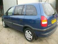 Vauxhall/Opel Zafira 1.8i 16v auto 2003.5MY Club 7 seater new m o t
