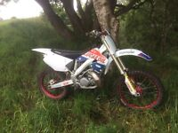 Cr 250 project