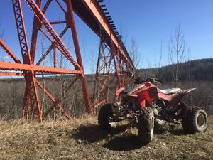 2008 TRX 450 R up for trades