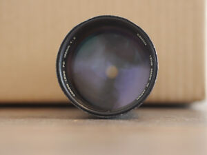Canon FD 135mm F/2 MF Lens