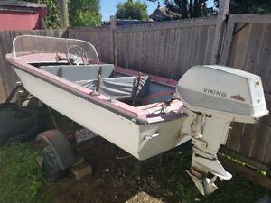 Viking Boat, Motor, Trailer  for sale