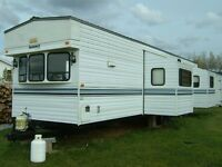 40 ft Summit travel trailer