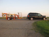 Man Lift (Boom) For Rent - Towable
