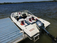 1989 Bowrider 16 ft Sun Ray boat