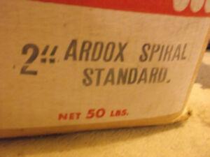 2 inch ardox spikes,